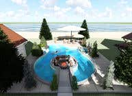 Proposition n° 41 du concours 3D Animation pour Do 3d render for pool in sketchup, vray,  lumion or similar softwares.