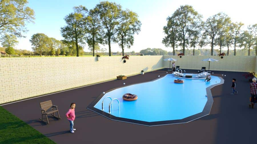 Proposition n°                                        37                                      du concours                                         Do 3d render for pool in sketchup, vray,  lumion or similar softwares.