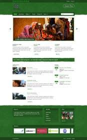 TECHRONYX tarafından Design a Website Mockup for international NGO için no 28