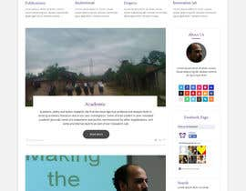 #25 untuk Design a Website Mockup for international NGO oleh syrwebdevelopmen