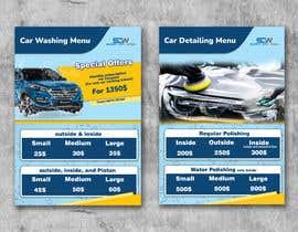 #13 untuk Price Board and IG Post Design for Car Wash Shop oleh MohNaasan