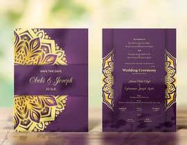 Nro 19 kilpailuun create wedding invitation card käyttäjältä theonedesign