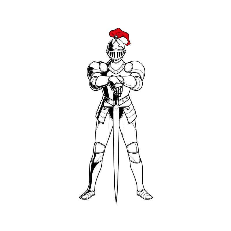 Konkurrenceindlæg #                                        29                                      for                                         Create 4 unique medieval knight characters for a card game (If we're satisfied with the quality we will be commission you to complete the rest of the set. There will be 2,400 needed in total)
