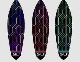 nº 19 pour Design Electric Skateboard Grip Tape (top of skateboard) par hanaserag