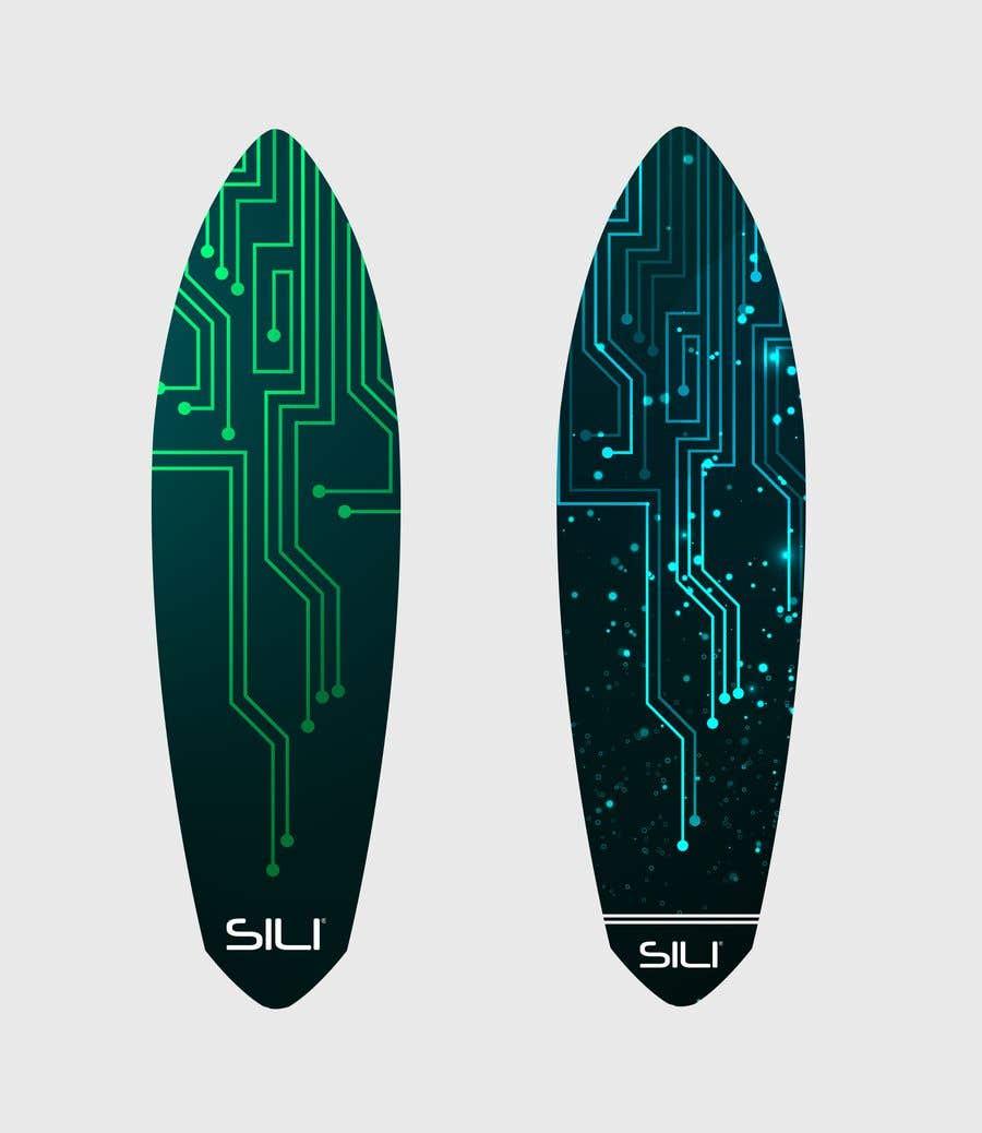 Konkurrenceindlæg #                                        24                                      for                                         Design Electric Skateboard Grip Tape (top of skateboard)