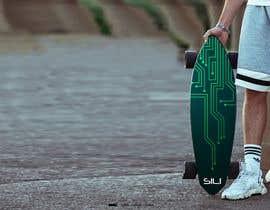 nº 37 pour Design Electric Skateboard Grip Tape (top of skateboard) par Tounsiadem