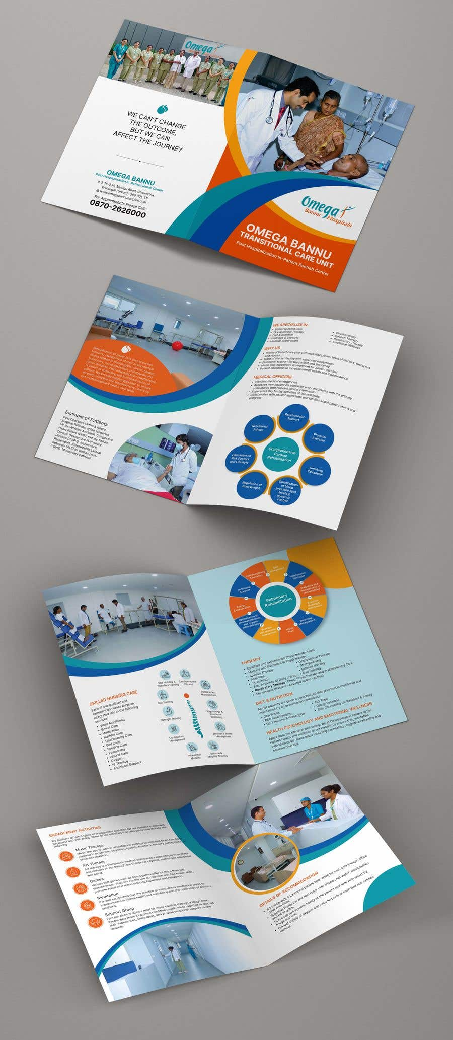 Bài tham dự cuộc thi #                                        51                                      cho                                         brochure design  for a rehab center
