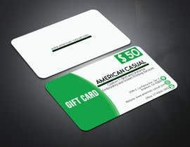 #30 untuk redesign my gift card oleh imamuddin91