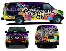 #94 cho Van wrap design  for an entertainment company bởi rnmichael