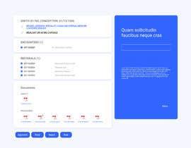 Nro 29 kilpailuun UI/UX Better Layout for this Full Screen Form käyttäjältä utkhan9