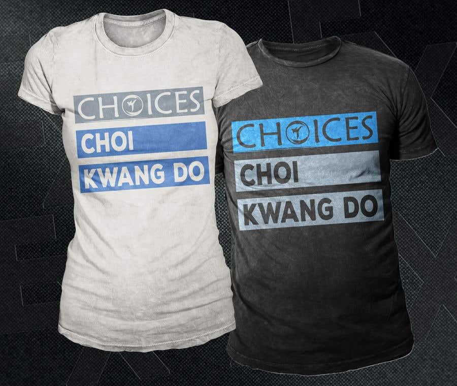 "Kilpailutyö #                                        24                                      kilpailussa                                         Design a ""street wear"" T-shirt for my Martial Art school"