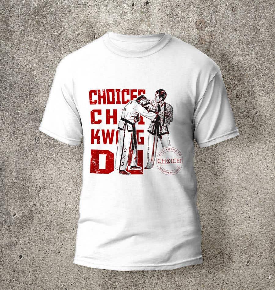 "Kilpailutyö #                                        10                                      kilpailussa                                         Design a ""street wear"" T-shirt for my Martial Art school"