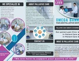 Nro 26 kilpailuun Brochure design for palliative care center käyttäjältä shaalam477808