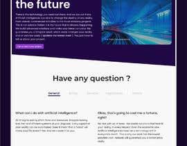 #27 cho Design Homepage HTML bởi jhaankitkumar12