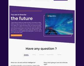 #47 cho Design Homepage HTML bởi jhaankitkumar12