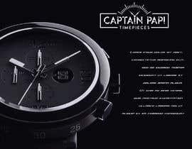 "#690 cho Make a Logo ""Captain Papi Timepieces"" bởi EagleDesiznss"