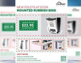 Nro 137 kilpailuun PRODUCT FLYER FOR NEW FOLD FLAT DOOR MOUNTED RUBBISH BINS käyttäjältä liponrahman