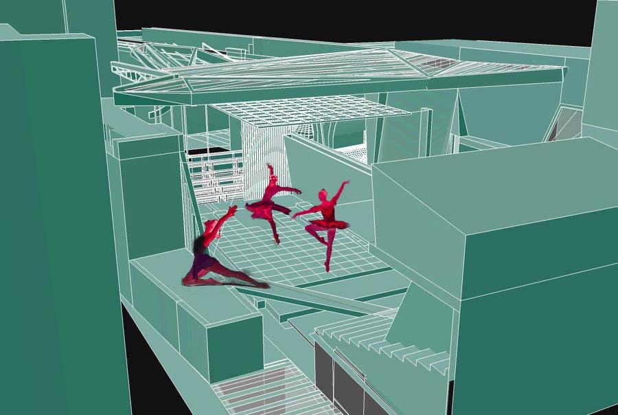 Penyertaan Peraduan #17 untuk Draw/illustrate a visual for a dance theatre