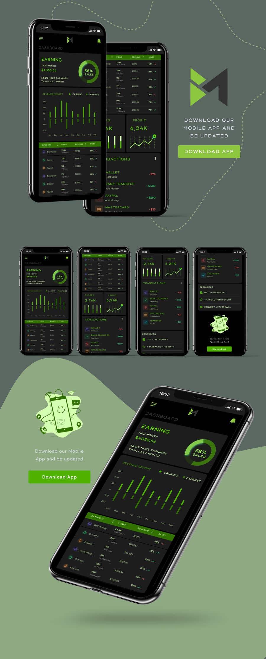 Bài tham dự cuộc thi #                                        20                                      cho                                         UI & UX Custom Design for App (Business Manager ERP System)