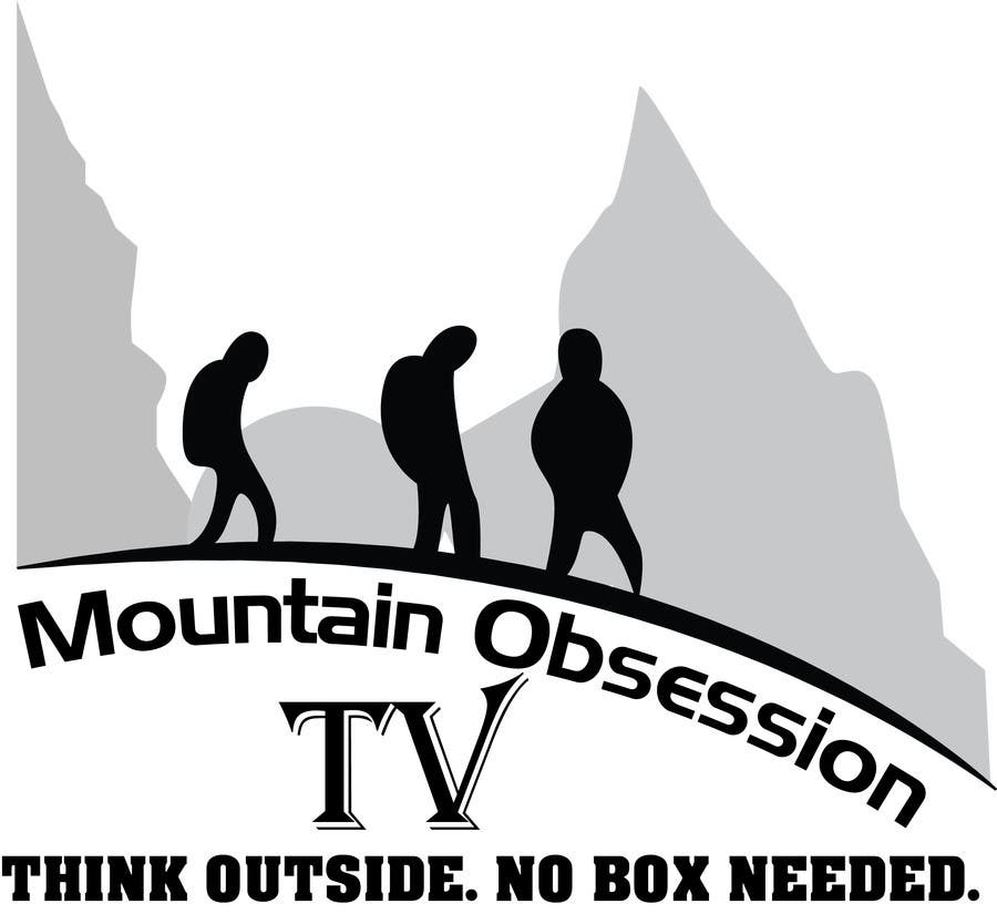 Konkurrenceindlæg #8 for Design a Logo for Mountain Obsession TV