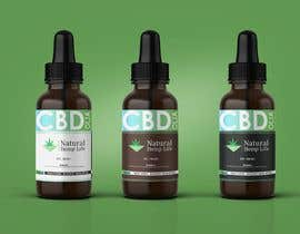 #176 cho Create a series of new labels for our CBD Oils. bởi aleemnaeem