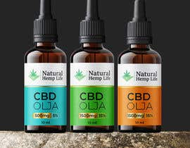 #143 cho Create a series of new labels for our CBD Oils. bởi ssandaruwan84