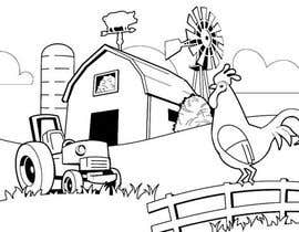 #44 for Kids Farm Animal Coloring Book af aishnakushwah