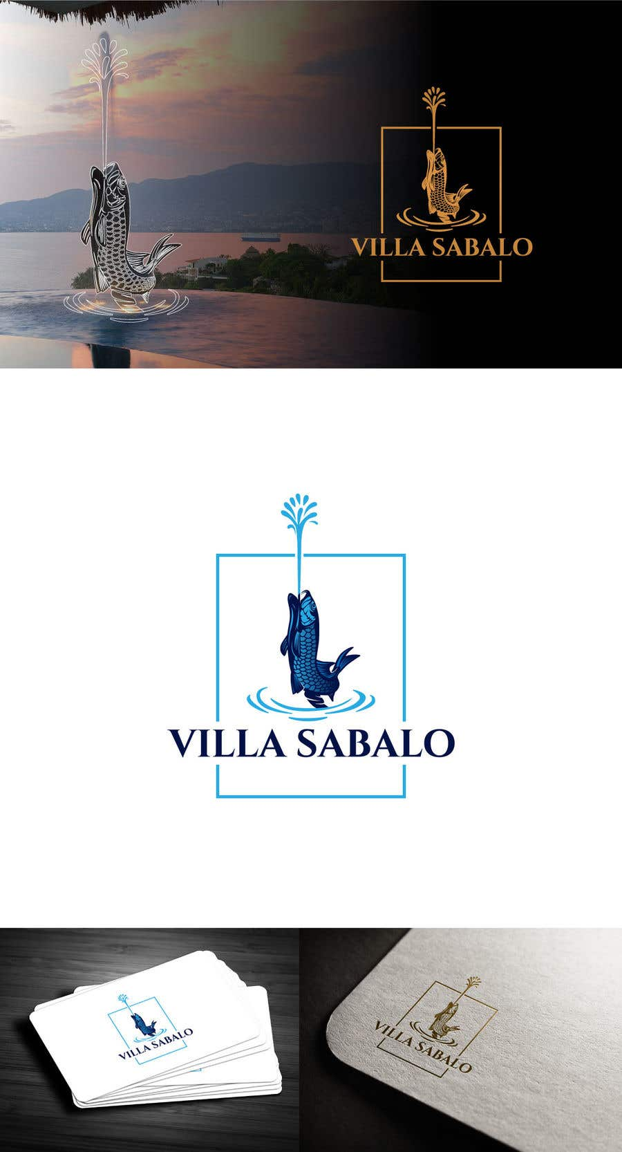 """Proposition n°                                        398                                      du concours                                         Build New Logo for """"Villa Sabalo"""""""