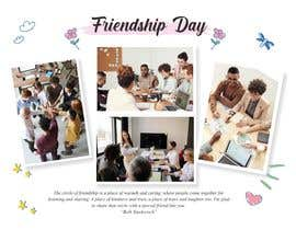 #11 for Friendship Day Office Environment Greeting Images by Kr3ator4RT