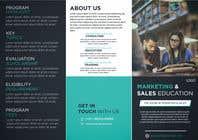 Need a brochure designer for an online education company için Graphic Design13 No.lu Yarışma Girdisi