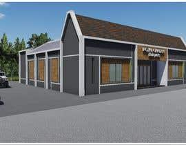 nº 32 pour Design a building (wedding BANQUET hall) facade par richsanoel