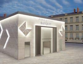 nº 30 pour Design a building (wedding BANQUET hall) facade par dorukhanturk