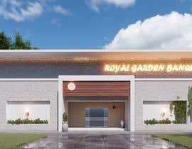nº 31 pour Design a building (wedding BANQUET hall) facade par CaesarEj