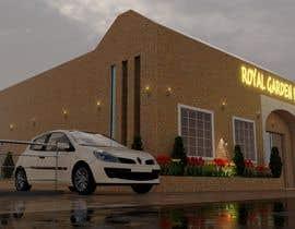 nº 17 pour Design a building (wedding BANQUET hall) facade par SHUVOMOHANTO623