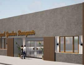 nº 7 pour Design a building (wedding BANQUET hall) facade par dellabiancard2