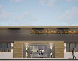 nº 8 pour Design a building (wedding BANQUET hall) facade par dellabiancard2