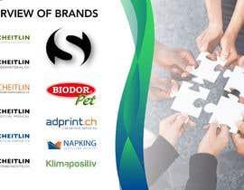 #27 cho Design an Overview of Brands (Logos attached) bởi jcvikash