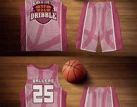 #33 untuk Design a basketball jersey oleh yafimridha