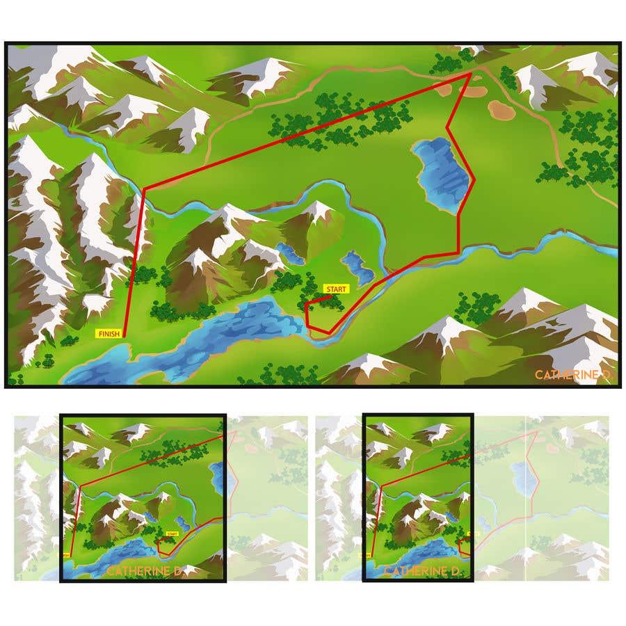 Bài tham dự cuộc thi #                                        8                                      cho                                         Maps for global adventure