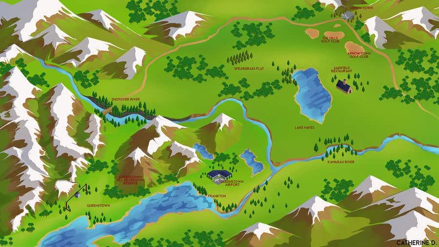 Bài tham dự cuộc thi #                                        10                                      cho                                         Maps for global adventure