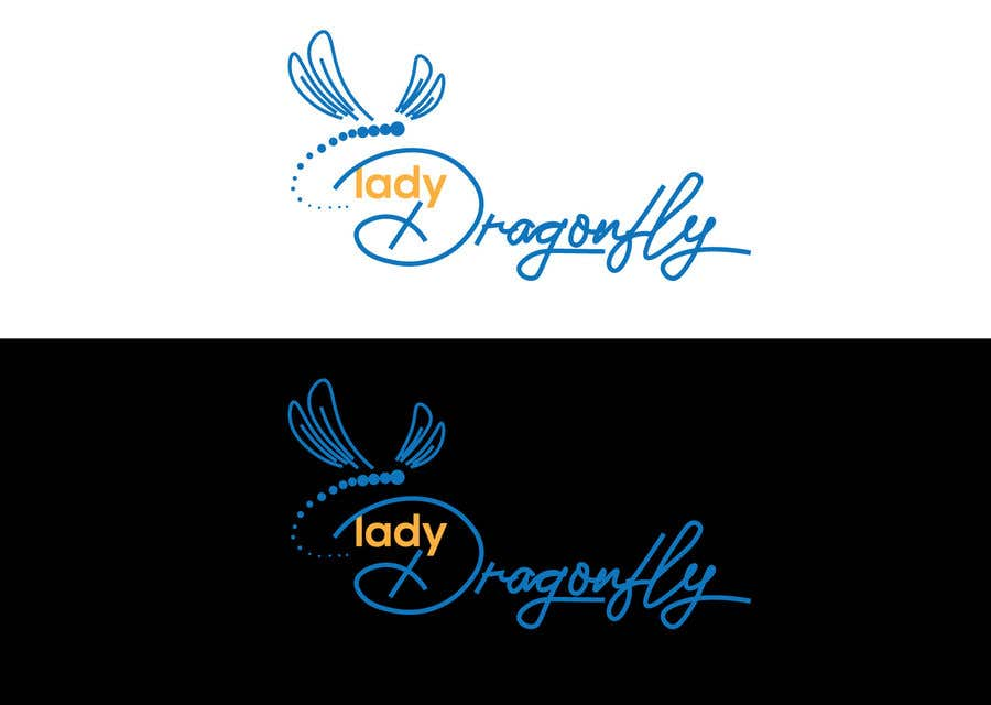 Proposition n°                                        45                                      du concours                                         Logo - simple Dragonfly cafe
