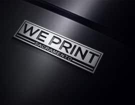 Nro 117 kilpailuun We Print Sacramento Logo käyttäjältä ra3311288