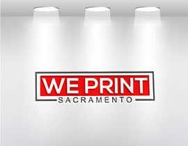 Nro 104 kilpailuun We Print Sacramento Logo käyttäjältä aklimaakter01304