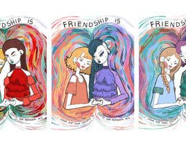 #46 for Set of 3 NFT cards concept about friendship by Makaerin