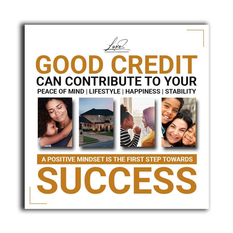 Kilpailutyö #                                        47                                      kilpailussa                                         Content Creation for Credit Repair business