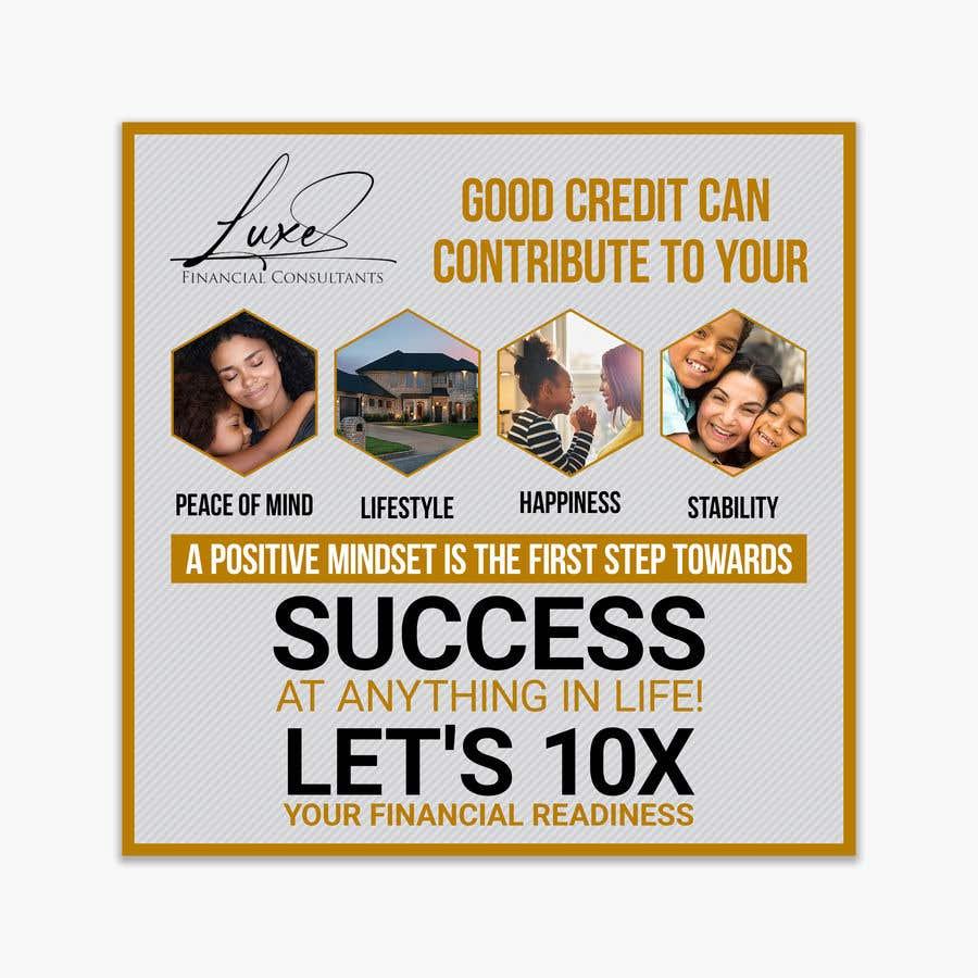 Kilpailutyö #                                        37                                      kilpailussa                                         Content Creation for Credit Repair business
