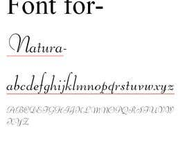 #38 for find me a font of text by nehakaul12