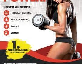 Nro 68 kilpailuun Din Lang Flyer 2 Seitig für ein Fitnessstudio käyttäjältä hayatikarakaya