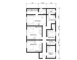 #10 for Interior living space remodel (basic - layout concepts only, detailed plans to be commisioned seperately) af kathperezf