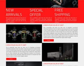 #3 for Design a Website Mockup for e-Cig company by ravinderss2014